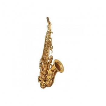 Artemis Curved Soprano Saxophone – Gold